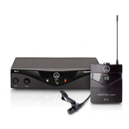 AKG Perception 45 Wireless Lavalier Presenter Set